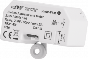 Homematic IP Schalt-Mess-Aktor-Unterputz