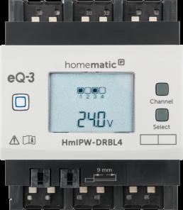 Homematic IP Wired Jalousieaktor – 4-fach