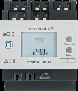 Homematic IP Wired Dimmaktor – 3-fach