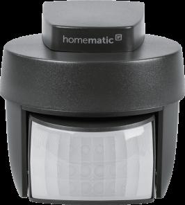 Homematic IP Bewegungsmelder mit Dämmerungssensor – außen, anthrazit