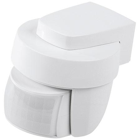 Homematic IP Bewegungsmelder mit Dämmerungssensor außen, weiß