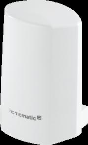 Homematic IP Temperatur- und Luftfeuchtigkeitssensor – außen, weiß