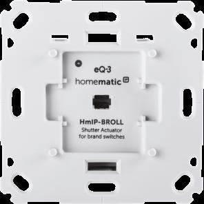 Homematic IP Wandtaster für Markenschalter – 2-fach