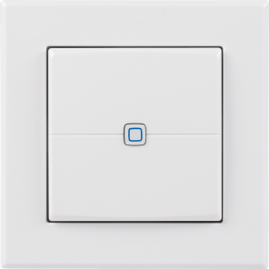 Homematic IP Wired Wandtaster – 2-fach
