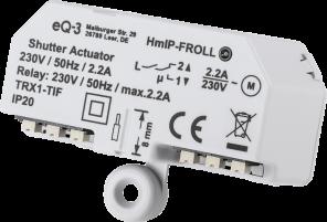 Homematic IP Rollladenaktor – Unterputz