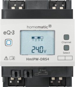 Homematic IP Wired Schaltaktor – 4-fach