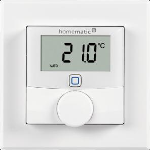 Homematic IP Wandthermostat mit Schaltausgang – für Markenschalter, 24 Volt