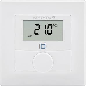 Homematic IP Wired Wandthermostat mit Luftfeuchtigkeitssensor