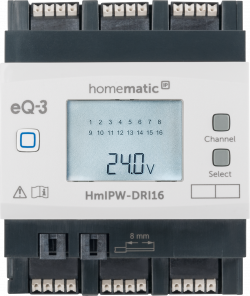 Homematic IP Wired Eingangsmodul – 16-fach