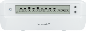Homematic IP Fußbodenheizungsaktor – 12-fach, motorisch